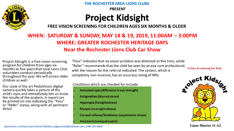 Project Kidsight Screening