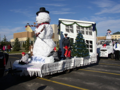 2004 Christmas Parade Float