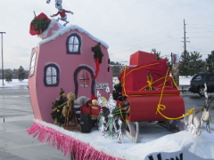 2005 Christmas Parade Float