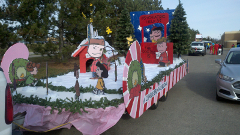 2014 Christmas Parade Float