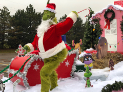 2018 Christmas Parade Float