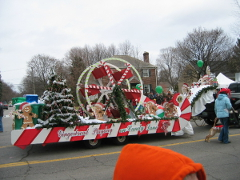 Previous Years Christmas Parade Float