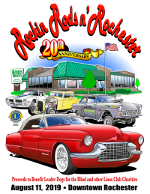Registration for 2019 Rockin Rods n Rochester Car Show