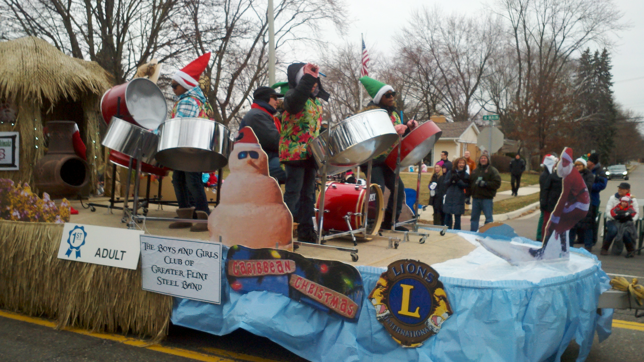 2013 Rochester Christmas Parade Float